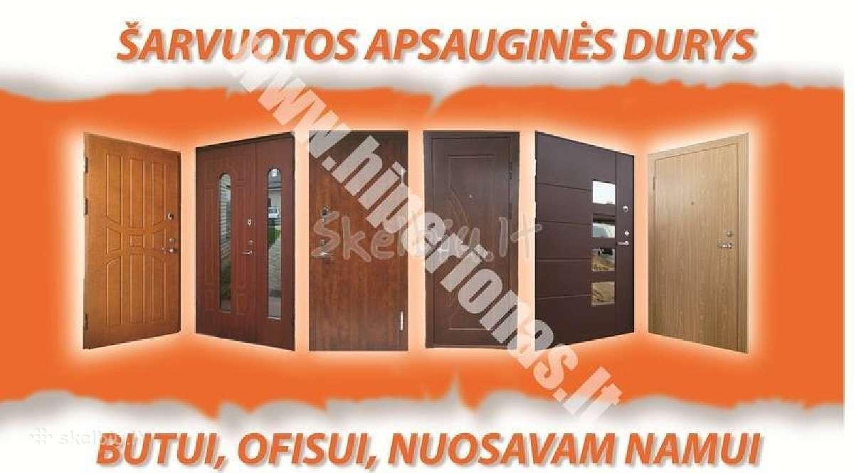Metalines laiptines durys vilniuje