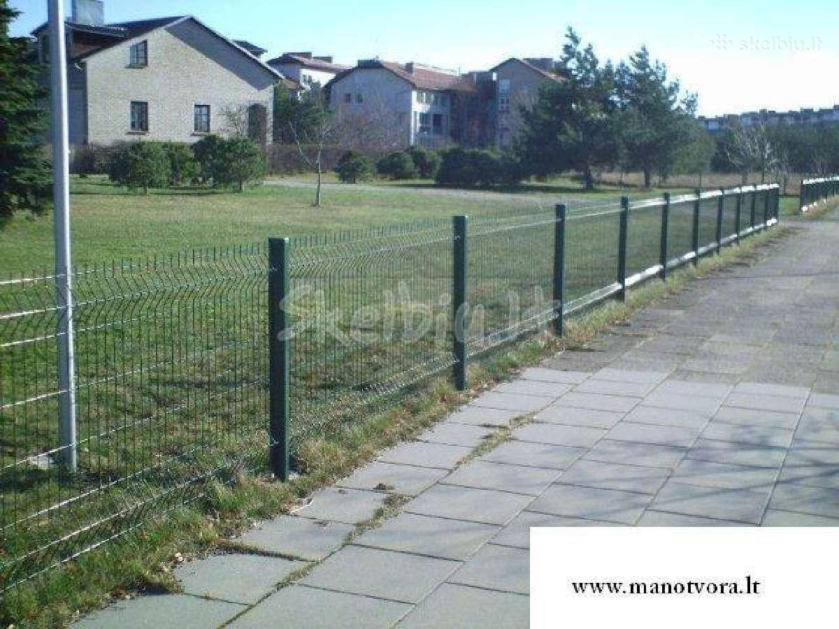 Segmentinės, tinklinės tvoros, vartai