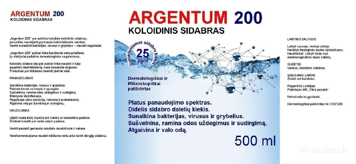 Koloidinis sidabras - 500 ml