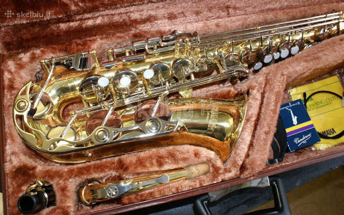 Saksofonas yamaha su fa pigiau nei kitur