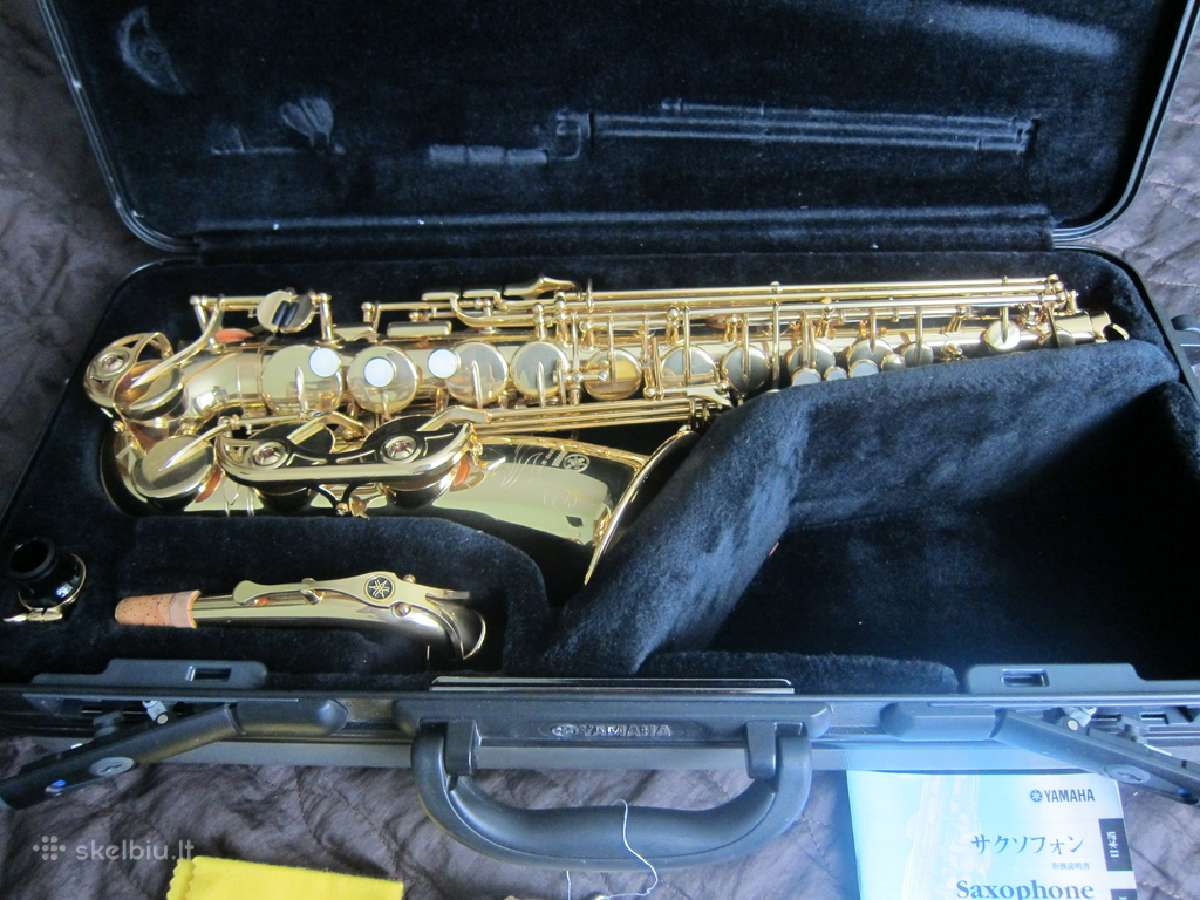 Saksofonai yamaha yas-62, 475, 32, 275, 25 23