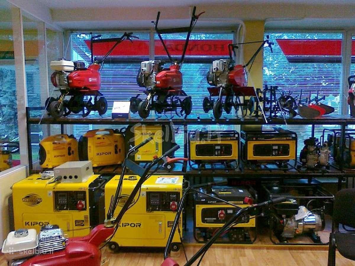 Nauji dyzeliniai generatoriai 1,7 iki 64 kw