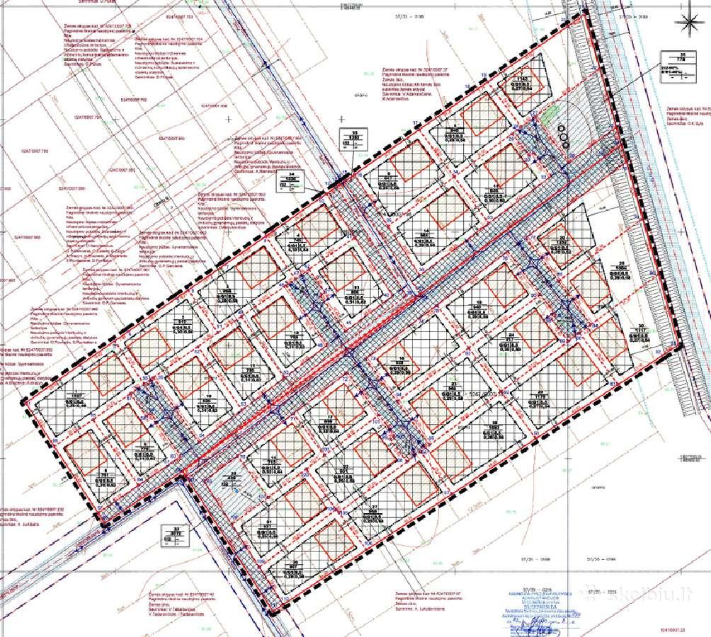 Parduodamas 30 sklypų projektas Kauno rajone