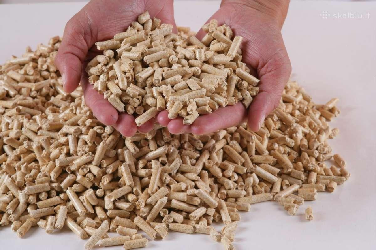 Medžio granulės,brikrtai mažiausiomis kainomis