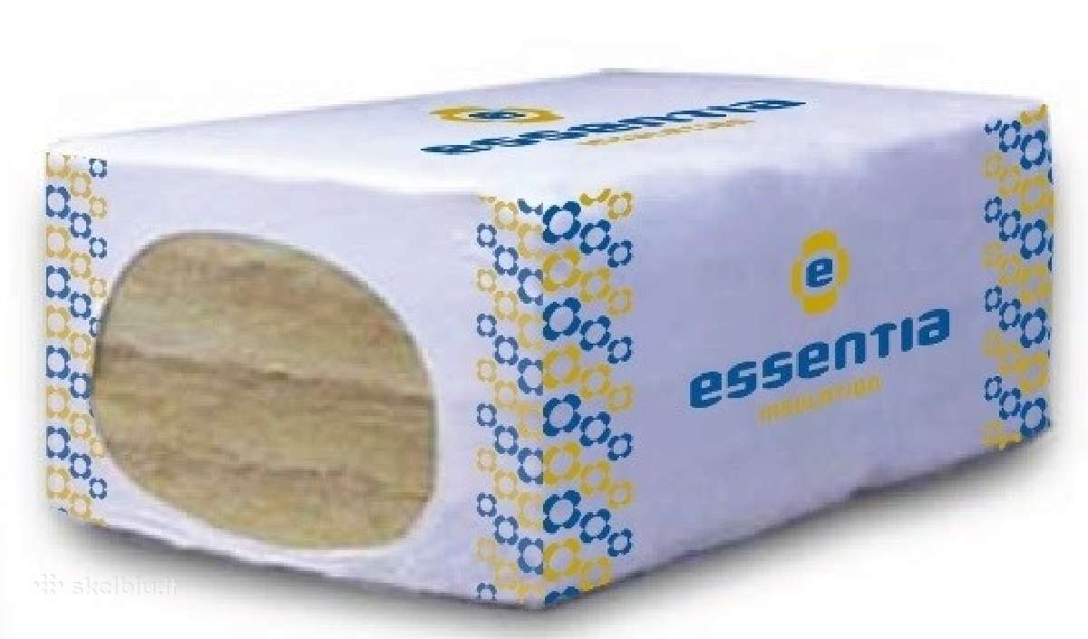 Mineralinė vata Essentia tik 21.30 Eur/m3