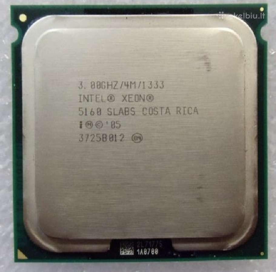 Cpu intel xeon processor socket 771, Ppga604 (Ok)