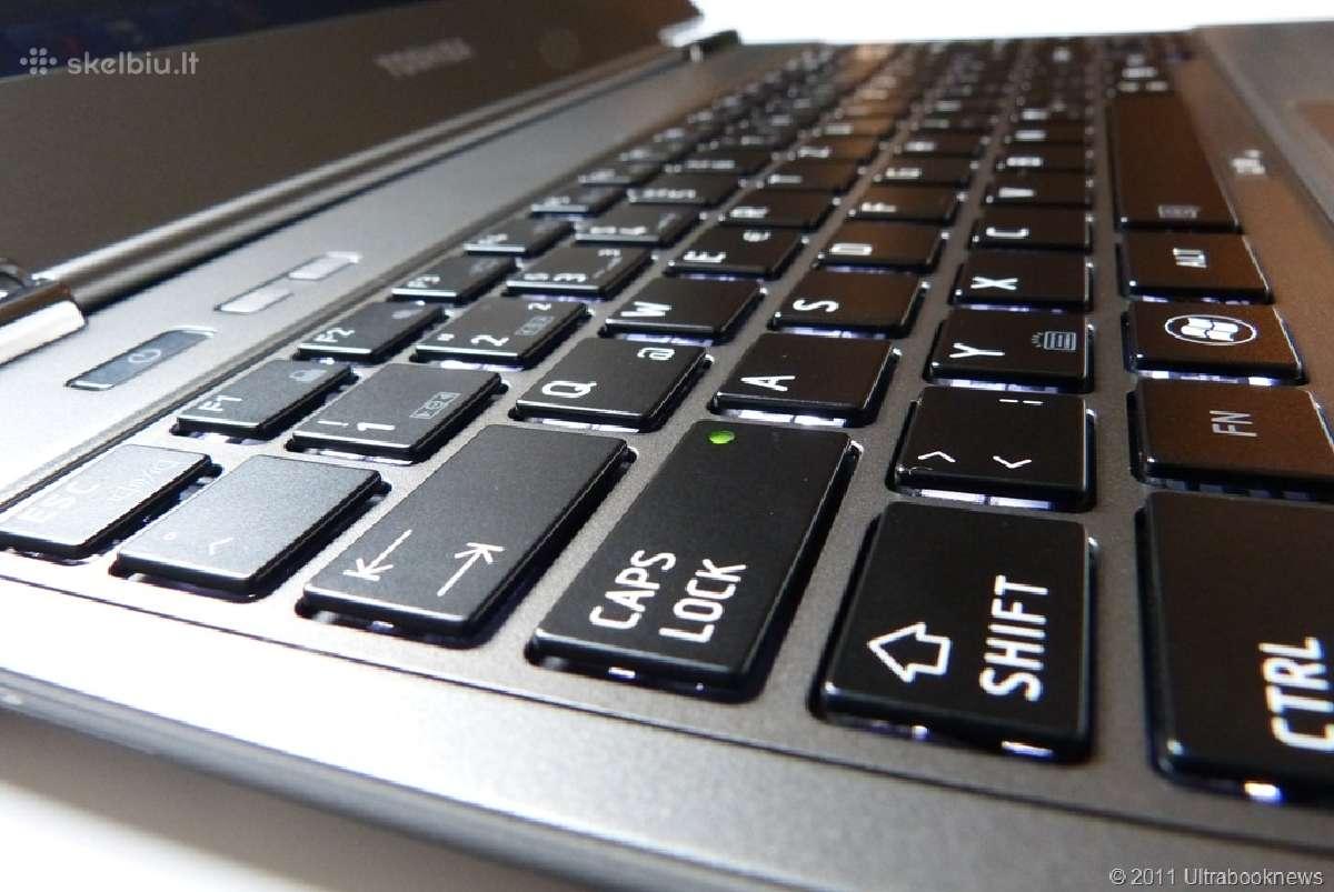 Nesiojamu kompiuteriu klaviaturos