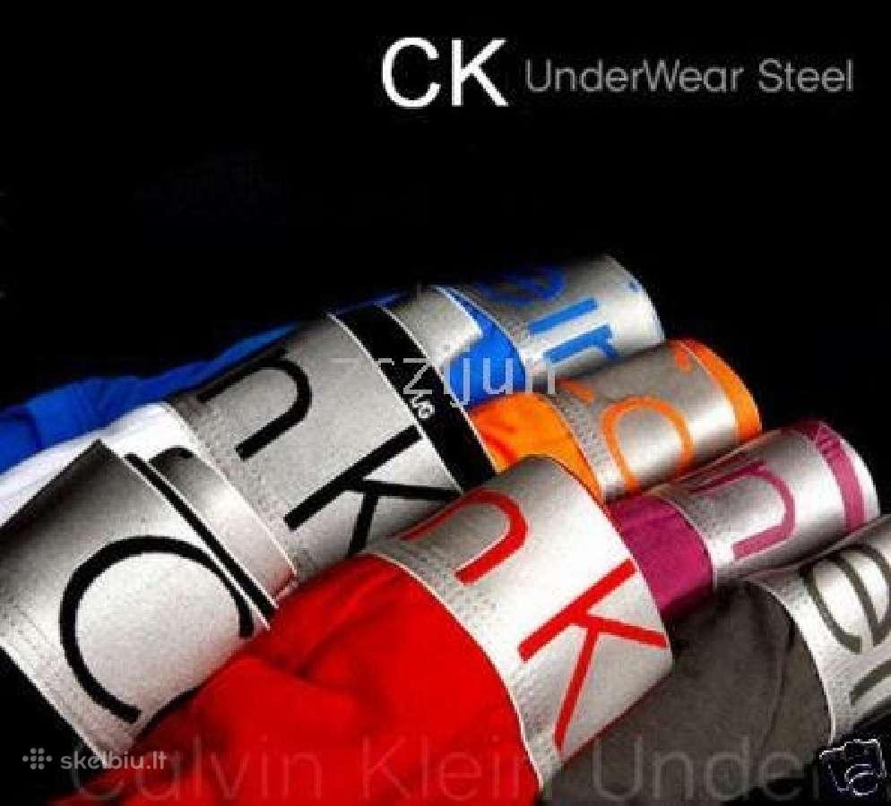 Puiki Dovana Calvin Klein Ck steel apatiniai