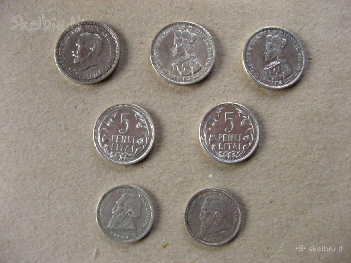 Pirkčiau sau į kolekciją tarpukario lietuvos monet