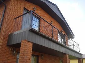 Kiemo vartai,balkonu tureklai,metalines tvoros