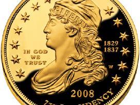 Carinių auksinių monetu supirkimas