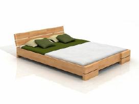 Skandinavisko dizaino medine lova Jonas