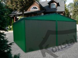 Nauji skardiniai garažai visoje lietuvoje