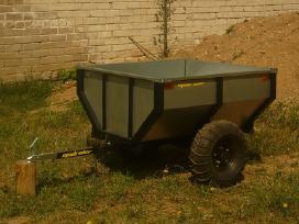 Sodo traktoriaus, keturracio ar motobloko priekaba