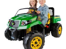 Elektromobiliai vaikams peg perego john deer