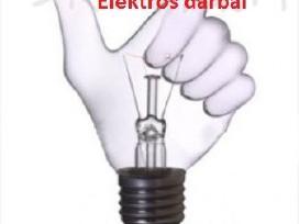Varžų matavimai, elektros darbai