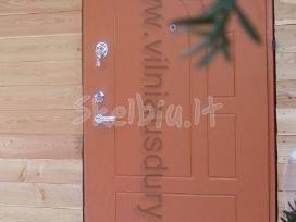 Šarvuotos durys nuo 274 Eur (su montavimo darbais)
