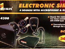 Stroboskopai,sirenos, blicai auto moto ir furoms