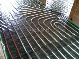 Nebrangus grindinio šildymo montavimas