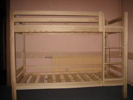 2-jų aukštų uosinės lovos