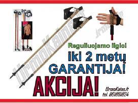 Šiaurietiško ėjimo lazdos originalios su garantija