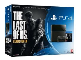 Last of Us Remastered + PS4 konsole