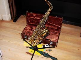 Saksofonai pradedantiems profesionalams. pustukai