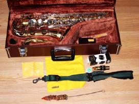 Saksofonai pradedantiems, profesionalams. pustukai