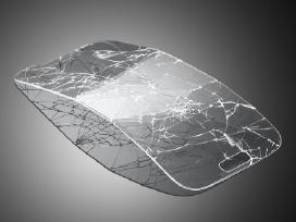 Grūdintas stiklas ekrano apsauginės plėvelės.