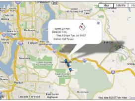 Profesionali navigacinė GPS sekimo sistema.