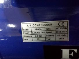 Oro kompresorius 1 cilindras / 50 l