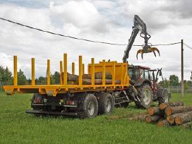 14t traktorinė kablio sistemos priekaba