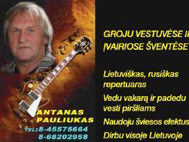Muzikantas Antanas Pauliukas