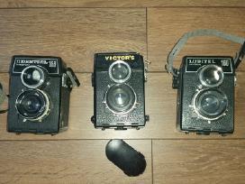 Antikvariniai fotoaparatai bei video kamera