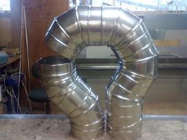 Įdėklai, pristatomi kaminai, ventiliacijos.valymas