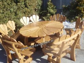Lauko baldai mediniai Didžioji ramunė