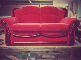 Minkstu baldu restauravimas