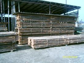 Džiovinta mediena - uosio, pušies, ąžuolo lentos