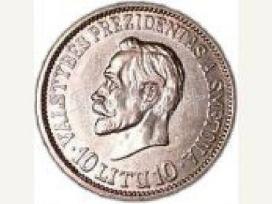 Perku sidabrines monetas
