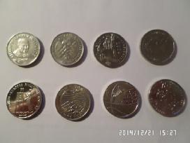 1 litas-progines monetos