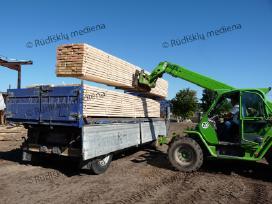 Statybinė konstrukcinė mediena iki 90 m ilgio