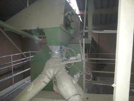 Nauja ir dėveta grūdų sandėliavimo įranga