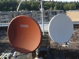 Palydovinės Sat vietinės TV radio antenų montav.