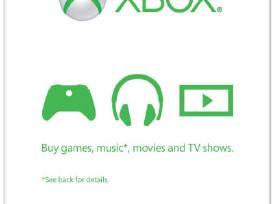 Xbox 360/one Live Gold, Microsoft Gift Card