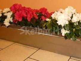 Lovelis gėlėms ir kiti gaminiai iš metalo