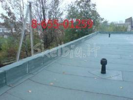 Bituminių prilydomų stogų dengimas