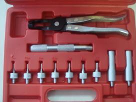Vožtuvų gumyčių rebokšlių nuėmimo/uždėjimo rink.