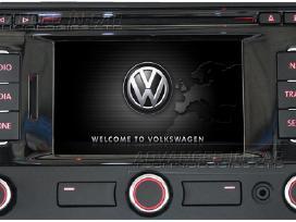 Volkswagen Rns 315 ir Rns 310 Sd 2017 m. žemėlapia