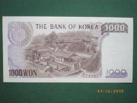 Korea banknota 1000 wonai 1983 Unc N34+*