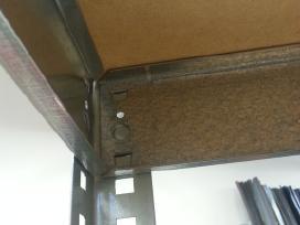 Stelažai, metalinės sandėliavimo lentynos